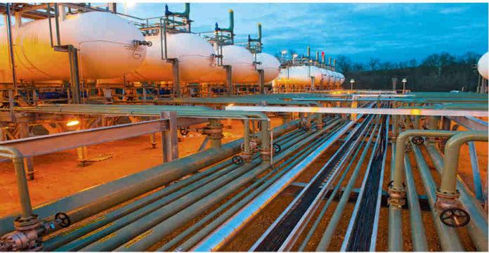 KivuWatt gas power plant
