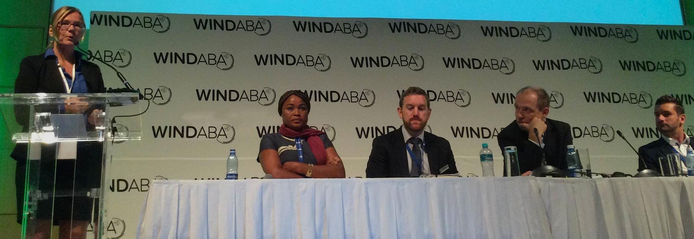 windaba-2016-panel-discussion. Pic credit: Nordex Acciona Windpower