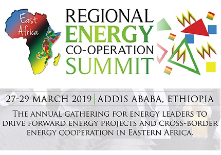 About East Africa Regional Energy Co-operation Summit 2019