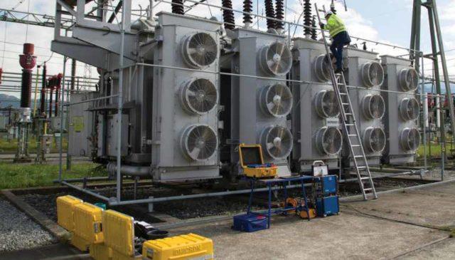Smart power transformer maintenance