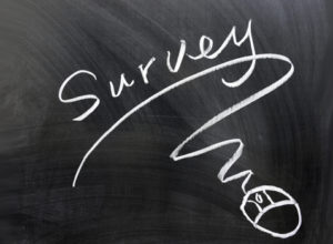 Survey on chalkboard