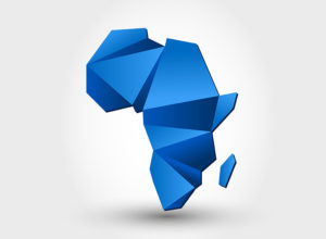 Africa-map-outline