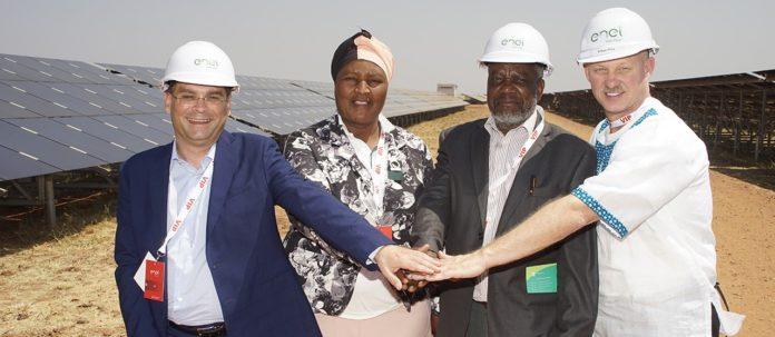 Tom Burke solar power plant