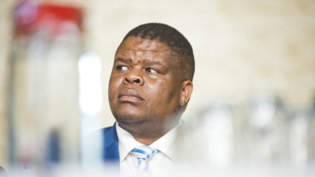 energy minister Mahlobo