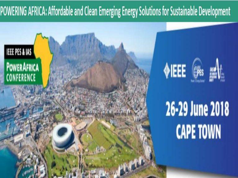 About IEEE PowerAfrica 2018