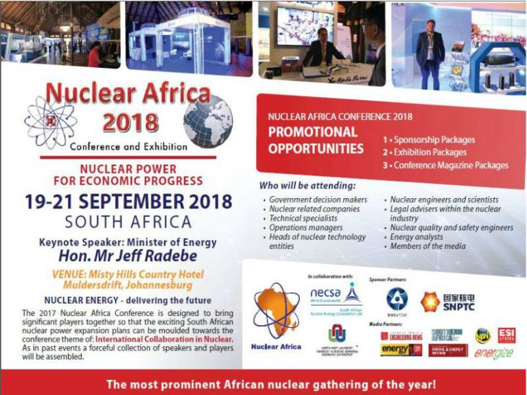 About Nuclear Africa 2018 Conference