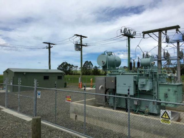 NOJA Power OSM Recloser used in a New Zealand substation with remote