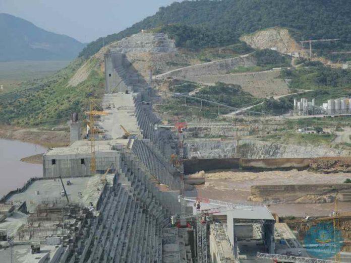 Grand Ethiopian Renaissance Dam under construction. Source: Ministry of Foreign Affairs Ethiopia