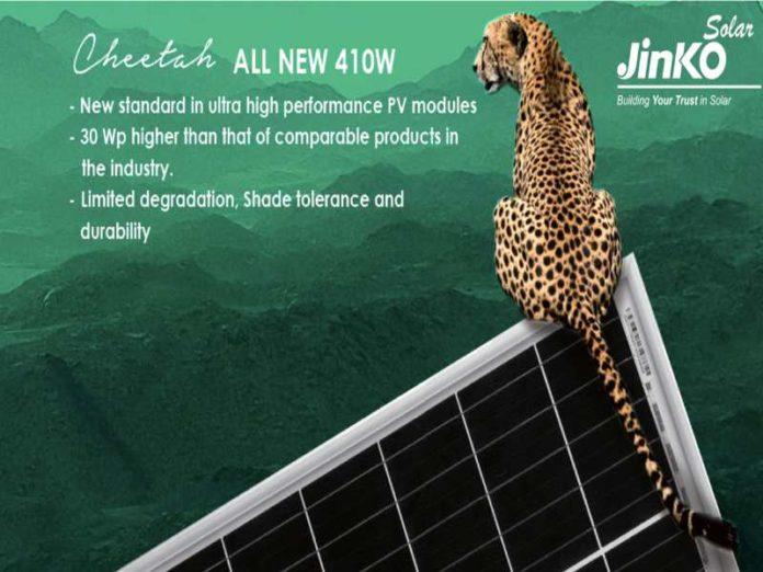 JinkoSolar's Cheetah Module