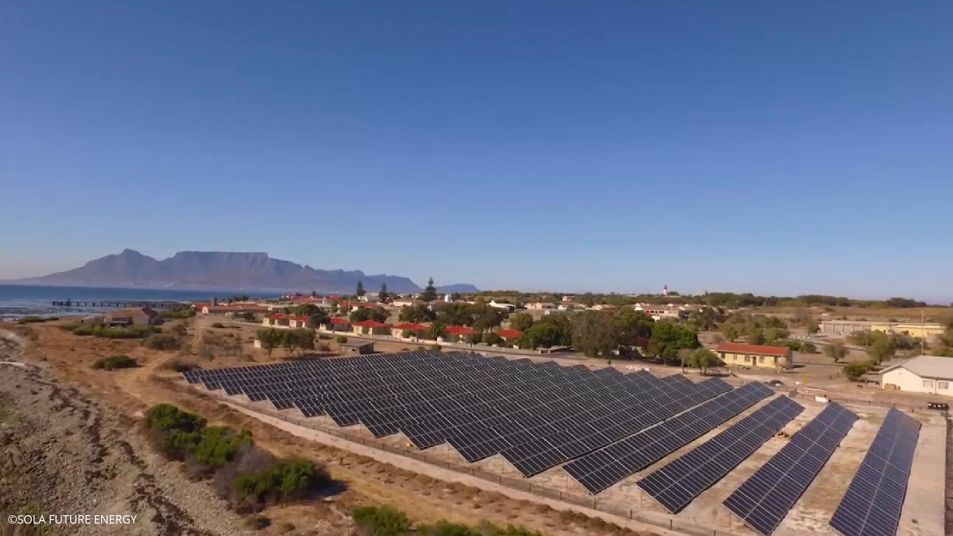 Robben Island solar: still a pioneering project | ESI-Africa com
