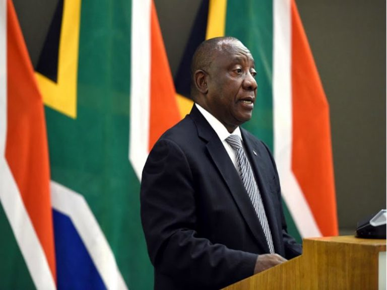 Response to President Ramaphosa's pronouncements on reconstruction and recovery