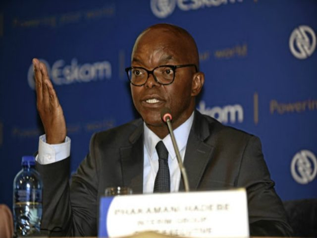 Eskom CEO Hadebe