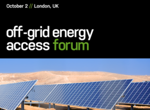 Off Grid Energy Access Forum