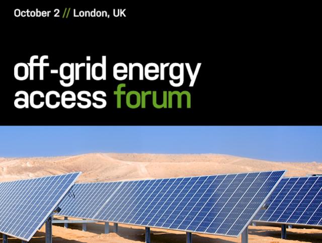 Off Grid Energy Access Forum