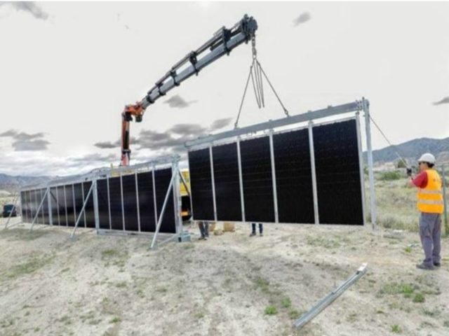 movable solar tracker