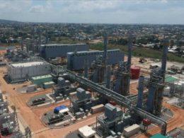 Kinyerezi power plant. Tanzania