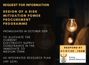 Department of Mineral Resources and Energy