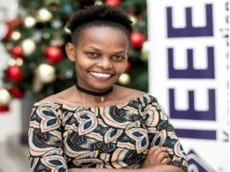 Mercy Chelangat. IEEE Smart Village Ambassador in East Africa