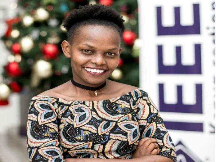 Mercy Chelangat. IEEE Smart Village Ambassador in East Africa