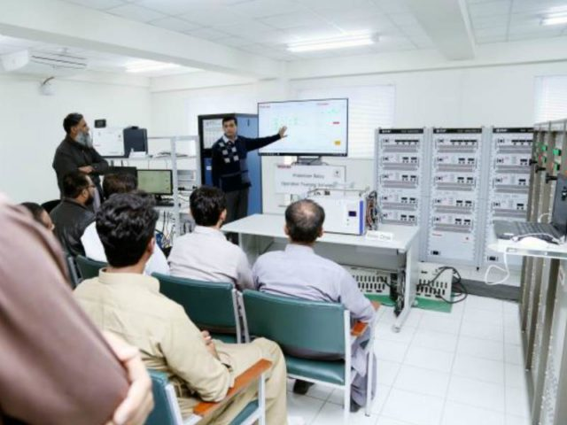 Toshiba. Protection relay training simulators in Pakistan