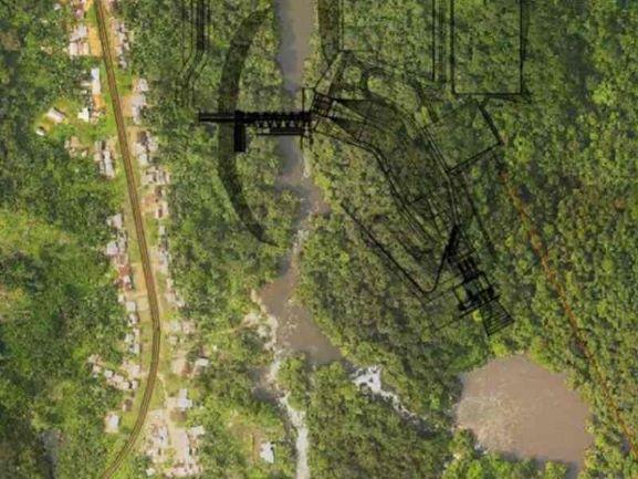 Dibwangui hydro project