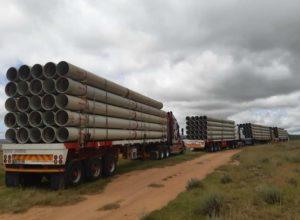 bulk water pipeline
