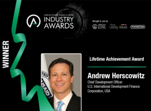 Former Power Africa Coordinator Andrew Herscowitz wins Lifetime Achievement Award