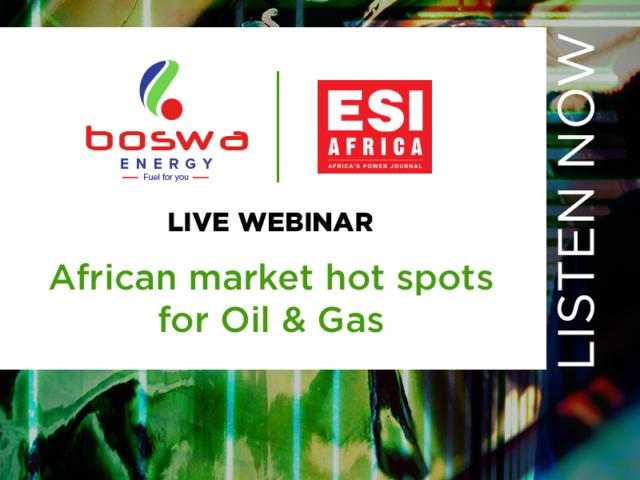 Webinar recording: African market hot spots for Oil & Gas