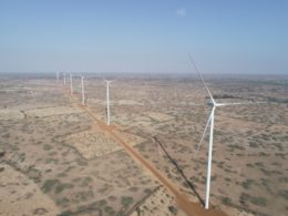 Senegal wind farm
