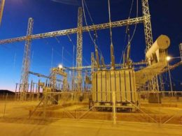 Kangnas Wind Farm energises its main transformer