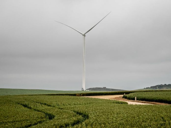 Excelsior wind farm connects to South Africa's power grid.