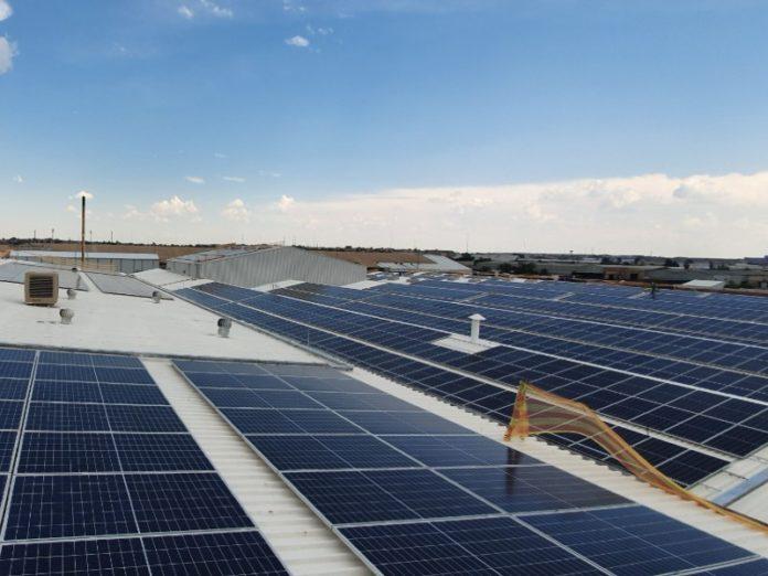 solar panels coca-cola plant