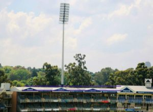 Imperial Wanderers Stadium adds green to its blue footprint.