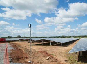 Ghana Lawra solar power plant
