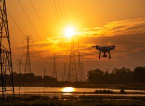 drones transmission lines inspection