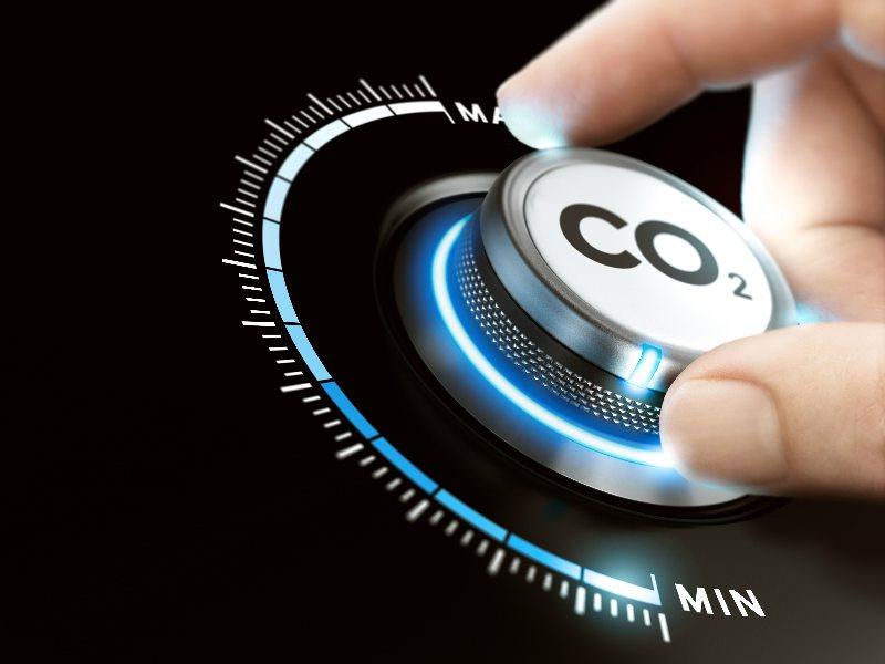 CO2  Carbon emissions.