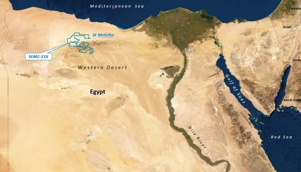 oil well SEMZ-11X oil Apex Egypt