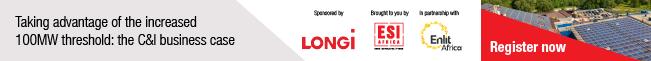 Longi Solar strip banner 100MW