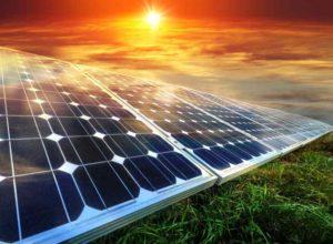 solar powered farms