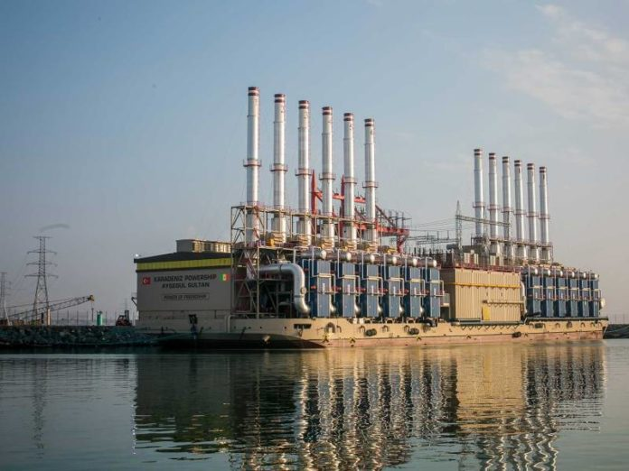 gas Senegal karpowership