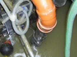 wastewater sewage