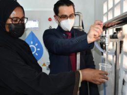 solar water desalination