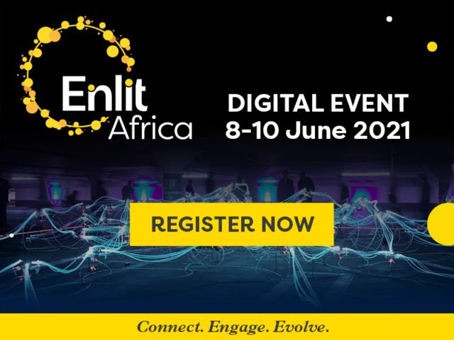 Enlit Africa digital event register now banner