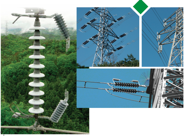Toshiba EGLA installed on power line.
