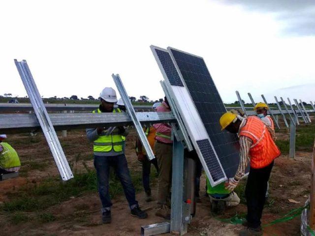 Togo AMEA Power solar pv plant