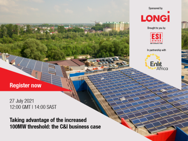 C&I business case Longi Solar banner