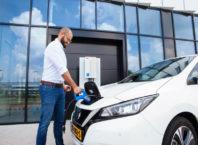 V2G service for EV fleets