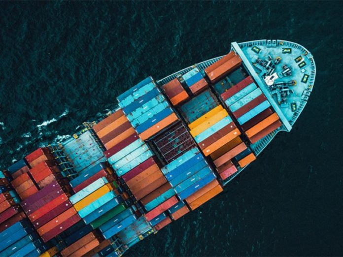 container ship Maersk green fuel