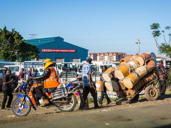 motorcycle Nairobi Kenya
