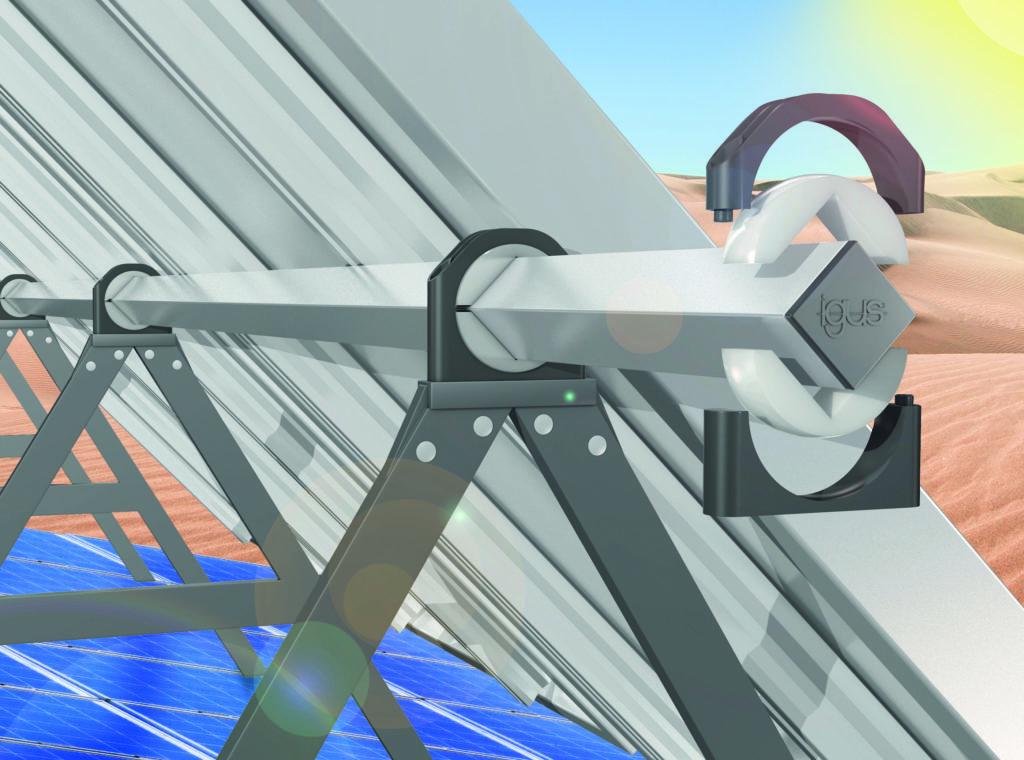 Bearings for solar power